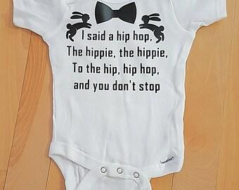 Hip hop Easter Onesie