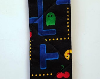 Quilted fabric bookmark