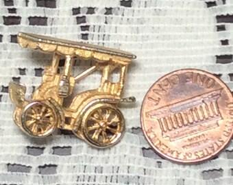 Cute Vintage Car Brooch