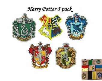 Harry Potter Embroidery Design - 4,5 inch size each instant download