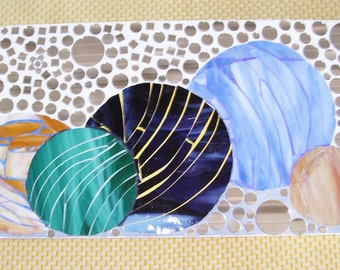 marbles, spere, ball mosaic