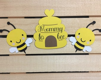 Mommy To Bee Baby Shower Theme