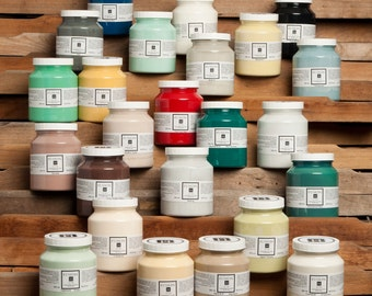 Fusion Mineral Paint, No VOC and Eco Friendly Furniture Paint - Foundation to Finish All in One - 1 Pint - 43 Colors including new fall 2016