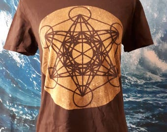 Metatron's Cube t-shirt- Small