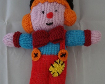 knitted clown