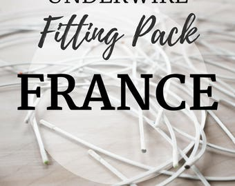 France Underwire Fitting Pack! Three Pair of Underwire to Find your Perfect Fit!