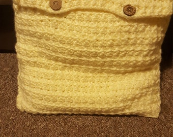 Handmade cover crochet