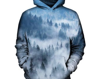 Morning Pines Hoodie | Rave, EDM, Festival Hoodie
