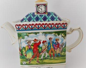 Sadler English porcelain teapot