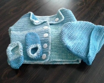Wavelength Baby Layette Set
