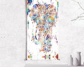 elephant tapestry wall hanging wall tapestry hanging tapestry wall art prints elephant decor elephant print elephant painting elephant art