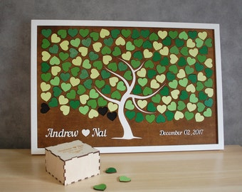 Wedding Guest book Alternative Puzzle Wood Guest book Tree Puzzle Guest book Sign 3d Guest book Puzzle Wedding Tree of life Wooden Guestbook