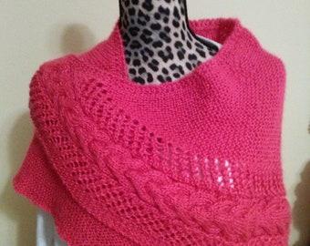 Hand-knit Shawl
