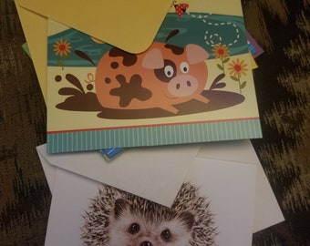Hello there! Stationery sets- note cards- write letters- connect with friends- send snail mail- correspondence