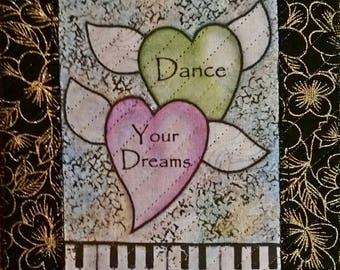 Dance Your Dreams Mug Rug