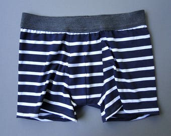 Organic underwear for men, handmade-to-order.