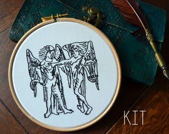 Gemini Zodiac Embroidery Kit