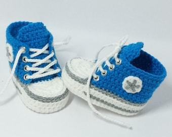 Baby shoes, Chucks, Gr. 16, Blue