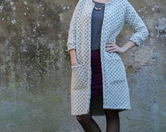 Opal Coat-& Cardigan - PDF Sewing Pattern