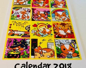 Harry Calendar 2018