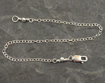 6 Inch Necklace Extender-Sterling Silver