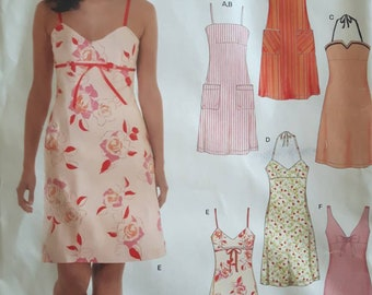 New Look 6459, Misses Dress Sewing Pattern