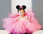 Items Similar To Minnie Mouse Pink Birthday Party Themed Little Baby