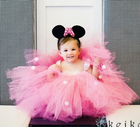 Minnie Mouse First Birthday Party Via Little Wish Parties: Items Similar To Minnie Mouse Pink Birthday Party Themed