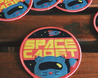 Space Cadet Iron-On Patch