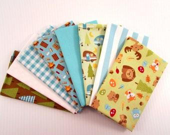 Riley Blake Camper by Doodlebug Designs Blue Fabric Bundle