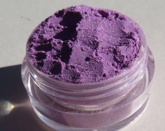 Dark Pastel Vegan Purple Mineral Eyeshadow |  Loose Powder | Cruelty-Free | Blue Shimmers | Mineral Makeup Eye Shadow - Vintage Plum