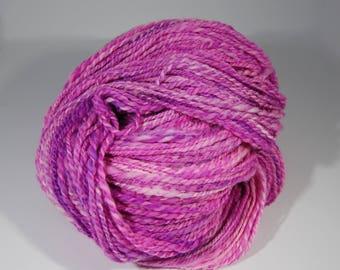 Handspun. Hand Dyed 100% Merino Wool