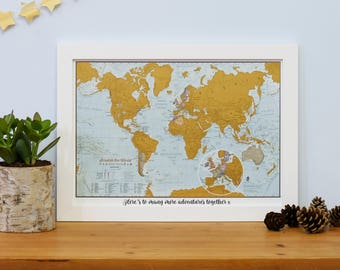 World map etsy scratch the world travel edition map print valentines day home gift for him gift for her scratch offworld map travel gift gift gumiabroncs Gallery