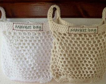 Crochet Pattern for LARGE Market Bag