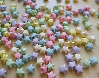 Pastel Origami Stars