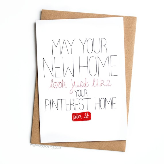 New Home Card Funny Moving Out Congratulations On Your New