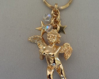 Cute KIRK'S FOLLY Cupid Angel Key Chain
