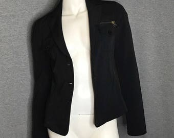 MOSCHINO Button Jacket Size: 8