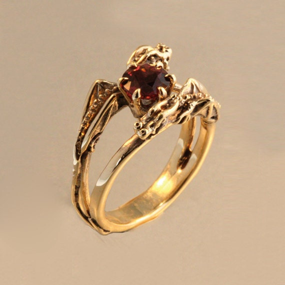 Dragon Ring Gold Dragon Jewelry Double Dragon Eternity