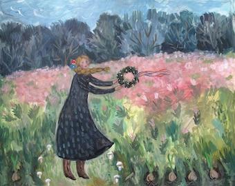 Fine Art Print- Ribbon Spring