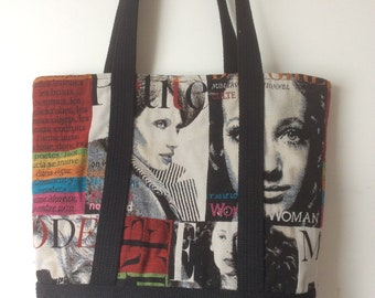 chic and trendy tote bag