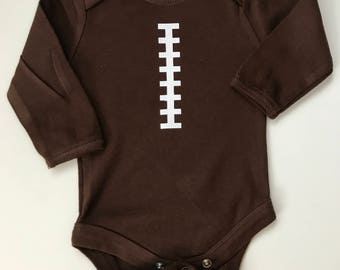 Football onesie - can be customized