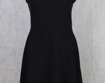 Sleeveless black dress, vintage clothing, vintage dresses, women's dresses dresses, women's clothing, dresses for women, kawaii clothing
