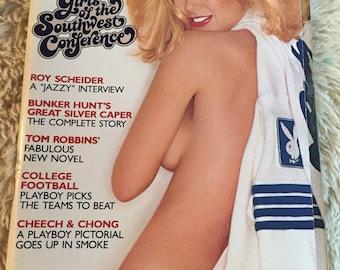 Vintage playboy magazine September 1980