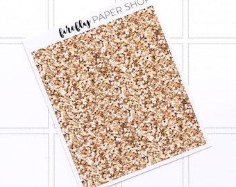 Starlight Glitter Headers (stickers for Erin Condren Life Planner - Vertical)