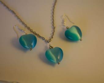 "Jewelry set "" Big Heart"""