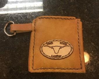 Front pocket wallet.