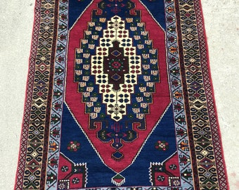 Vintage Turkish Konya Taspinar rug - 5'0 x 9'2 - 153 x 285 cm. - Free shipping!