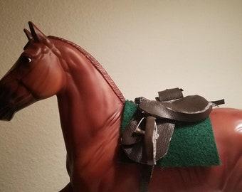 Model Horse Saddle Breyer Horse Tack Trail Saddle