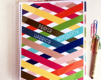 Prayer Warrior Notebook - Prayer Journal - War Room Notebook